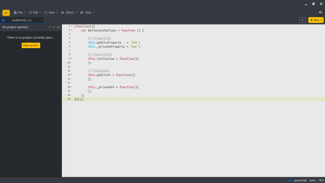 code-pad-editor